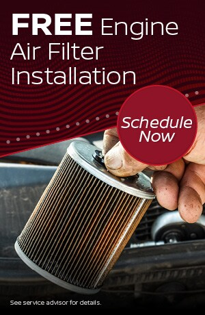 Free Engine Air Filter Installation