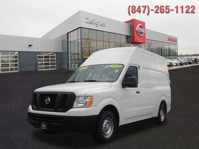 2019 Nissan NV Cargo NV2500 HD S Van High Roof Cargo Van