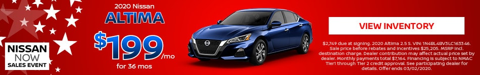 2020 Nissan Altima - February 2020