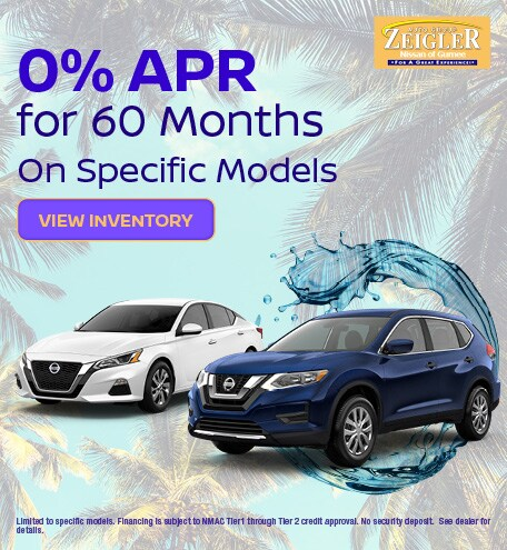0% APR for 60 Mos. - June 2020