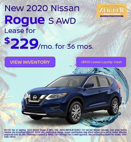 2020 Nissan Rogue S - June 2020
