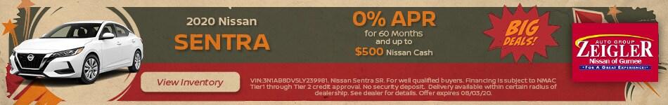 2020 Nissan Sentra - July 2020
