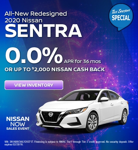 All-New Redesigned 2020 Nissan Sentra - March 2020