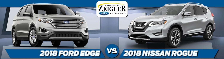 Ford Edge Vs  Nissan Rogue In North Riverside Il