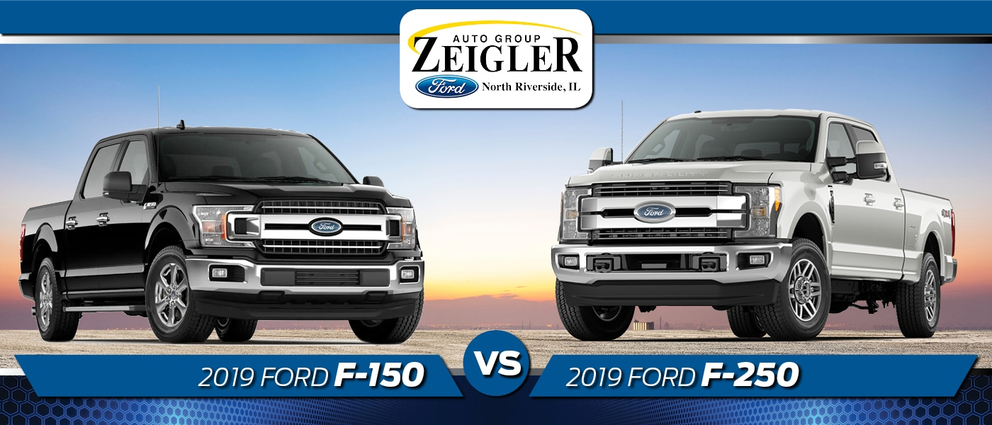 F150 Vs F250 >> 2019 Ford F 150 And F 250 What Are The Differences