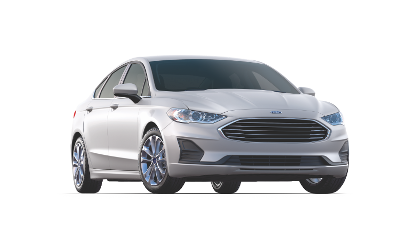 Silver 2019 Ford Fusion