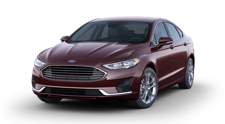 2019 Ford Fusion SEL Purple