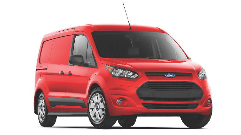 2018 Ford Transit Connect Red
