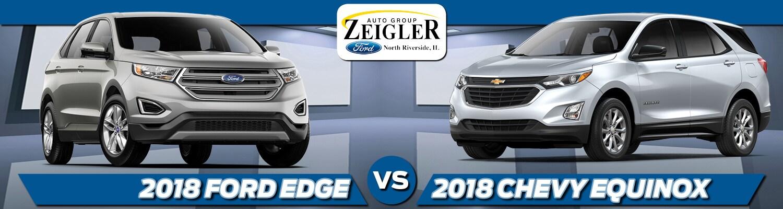 Ford Edge Vs  Chevy Equinox In North Riverside Il