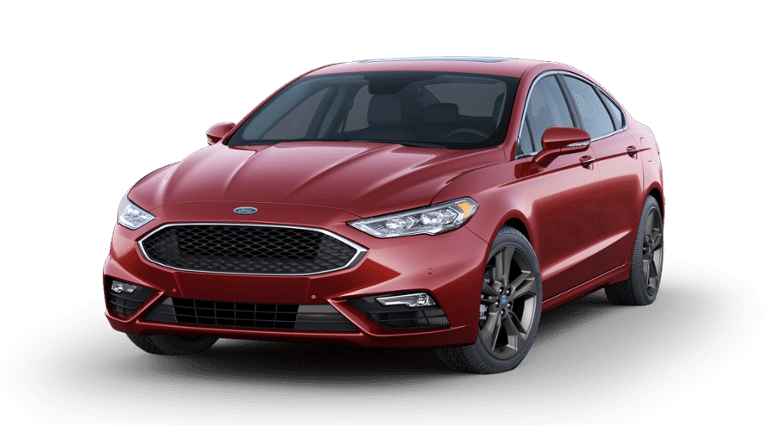 2019 Ford Fusion Sport V6 Red