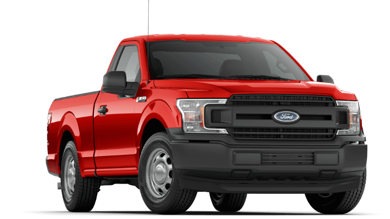 Red 2019 Ford F-150 XL