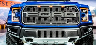2018 Ford F-150 grille