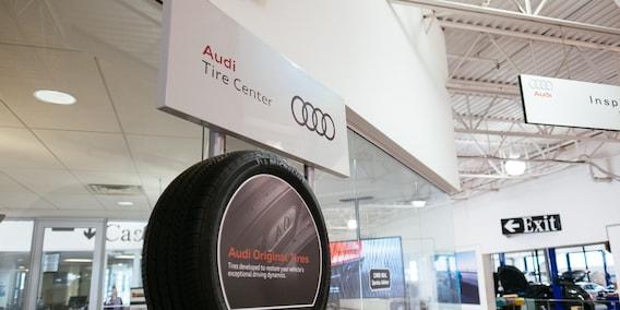 Audi Winter Tires & Wheel Package | Roadside Assistance