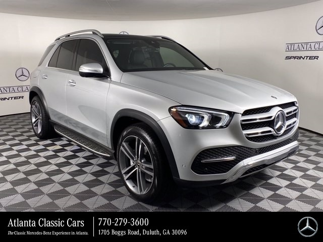 used 2020 Mercedes-Benz GLE 350 car, priced at $62,288