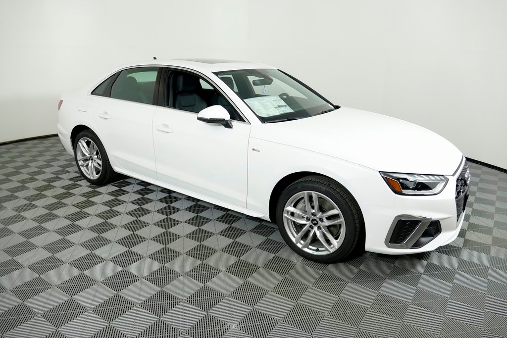 new 2021 Audi A4 car, priced at $49,170