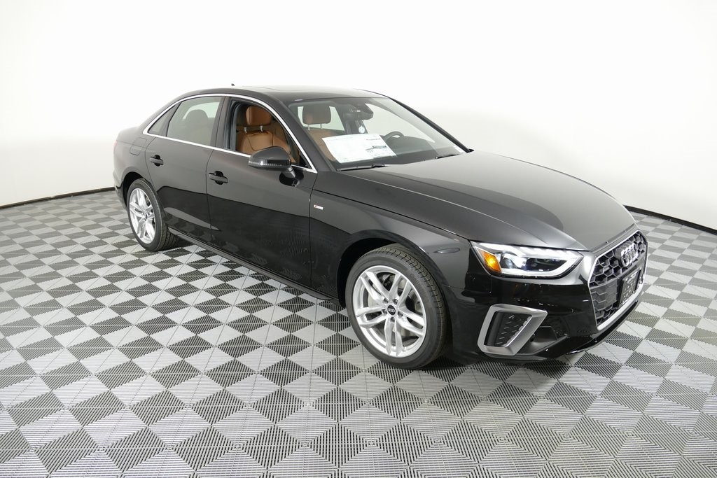 new 2021 Audi A4 car, priced at $47,035