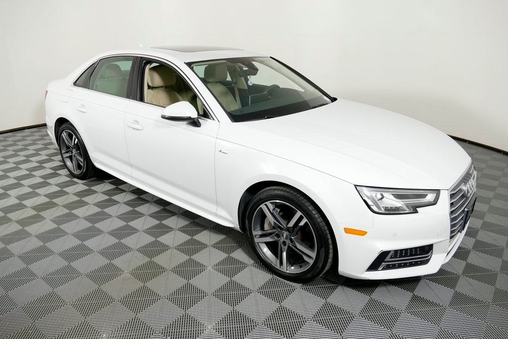used 2018 Audi A4 car, priced at $29,991