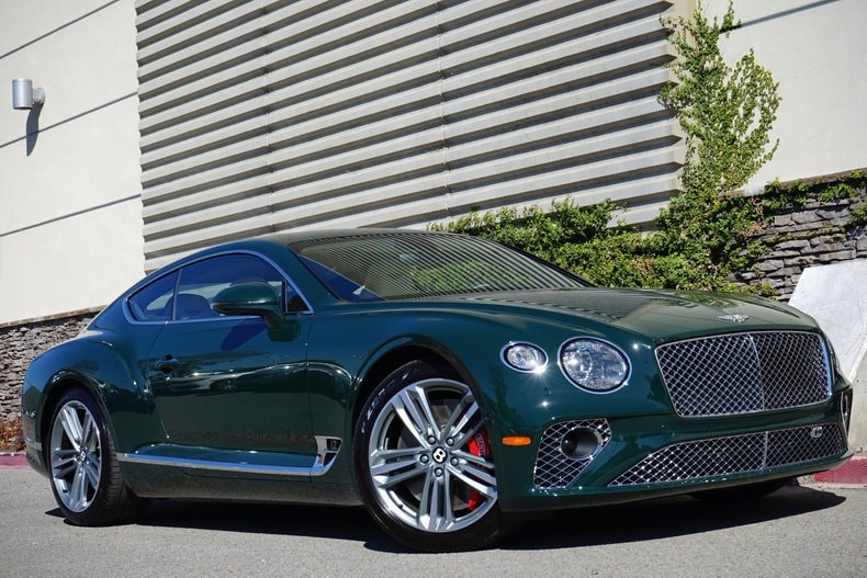 new 2020 Bentley Continental car, priced at $264,255