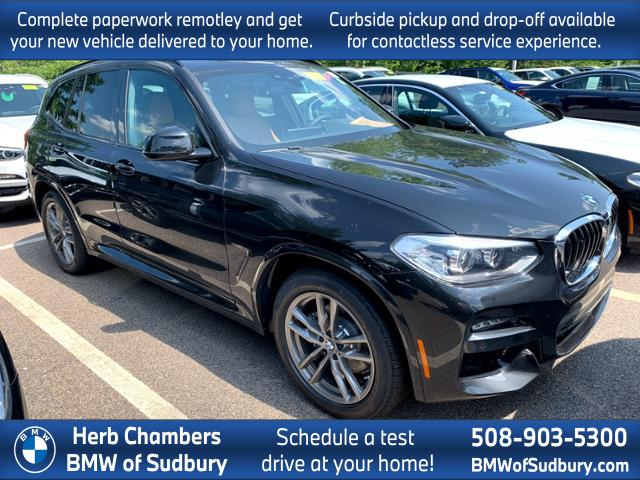 new 2020 BMW X3 car, priced at $54,255