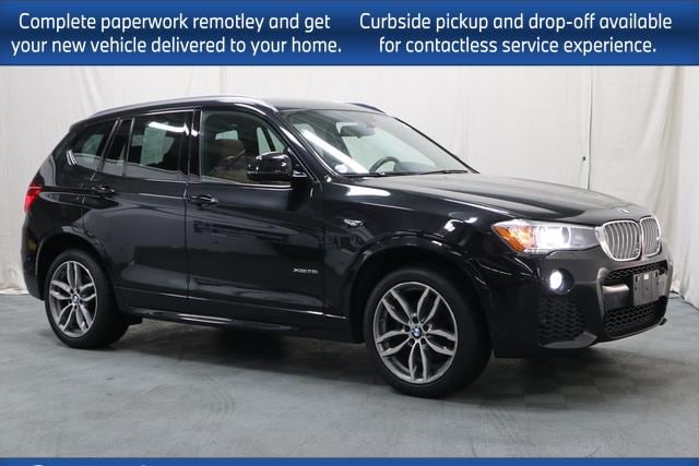 used 2017 BMW X3 car, priced at $29,998