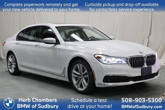 used 2019 BMW 750i car, priced at $56,798