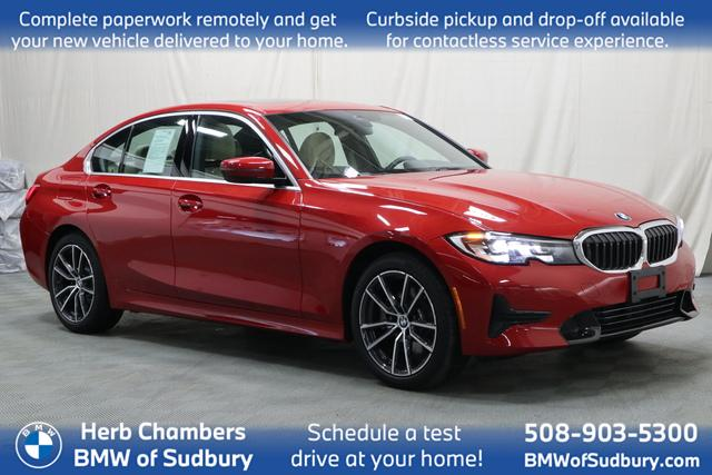 used 2020 BMW 330i car, priced at $36,988