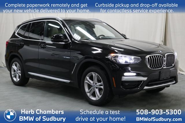 used 2019 BMW X3 car, priced at $36,398
