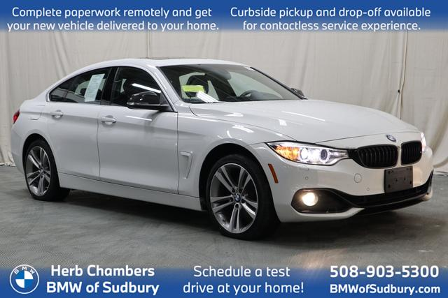 used 2017 BMW 430i car, priced at $26,898