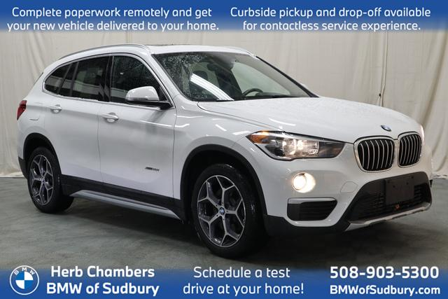 used 2018 BMW X1 car, priced at $25,898