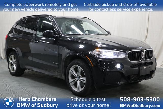 used 2018 BMW X5 car, priced at $39,998