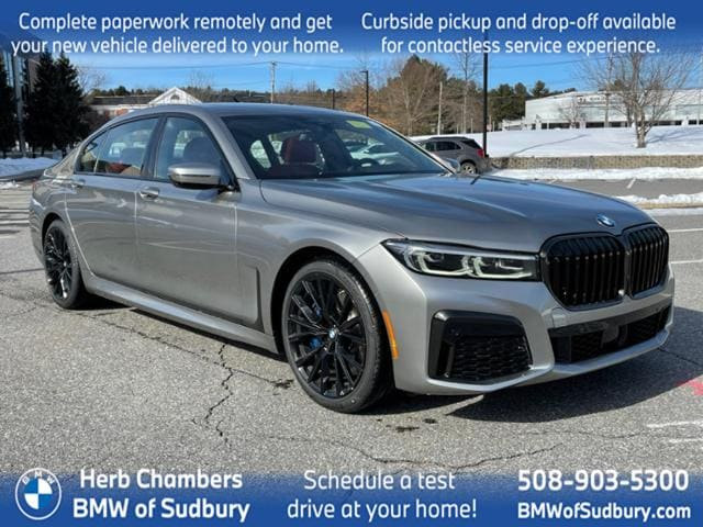 new 2021 BMW 750i car, priced at $126,800