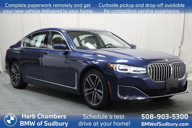 used 2021 BMW 750i car, priced at $99,998