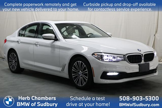 used 2018 BMW 540i car, priced at $39,888