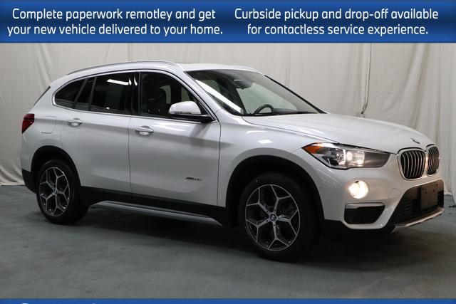used 2018 BMW X1 car, priced at $30,798