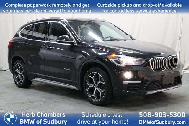 used 2018 BMW X1 car, priced at $25,798