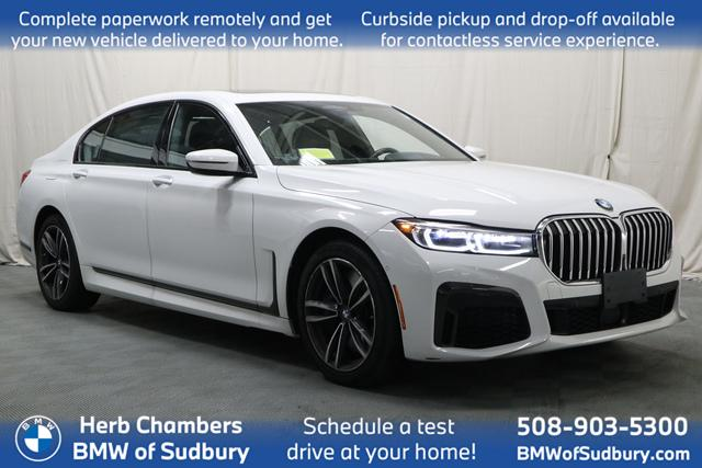 used 2020 BMW 750i car, priced at $82,888