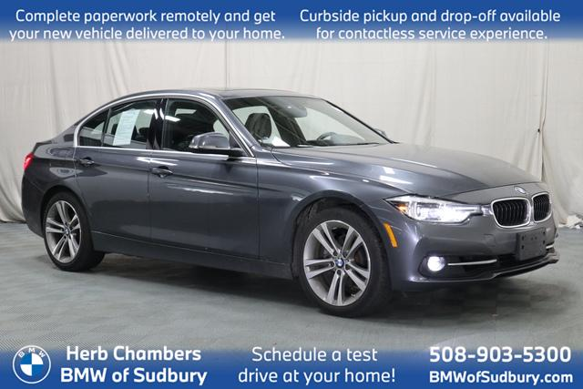 used 2018 BMW 330i car, priced at $26,698