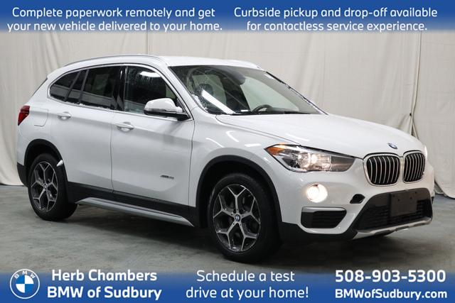used 2018 BMW X1 car, priced at $26,988