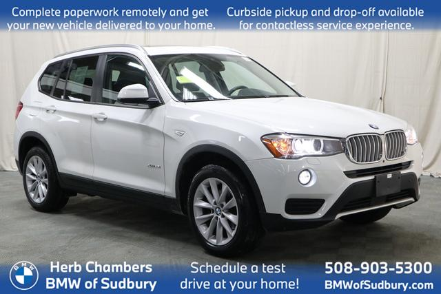 used 2017 BMW X3 car, priced at $24,598