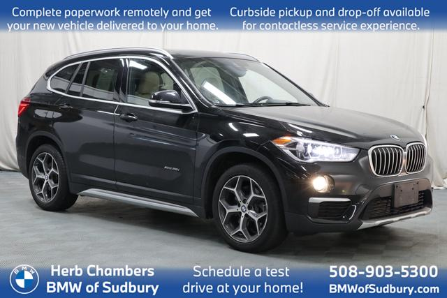 used 2018 BMW X1 car, priced at $24,498