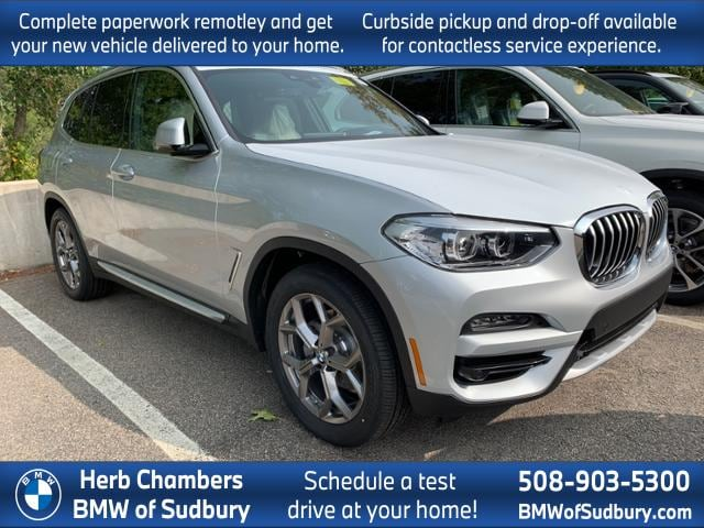new 2021 BMW X3 car, priced at $52,745
