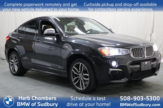 used 2018 BMW X4 car, priced at $39,998