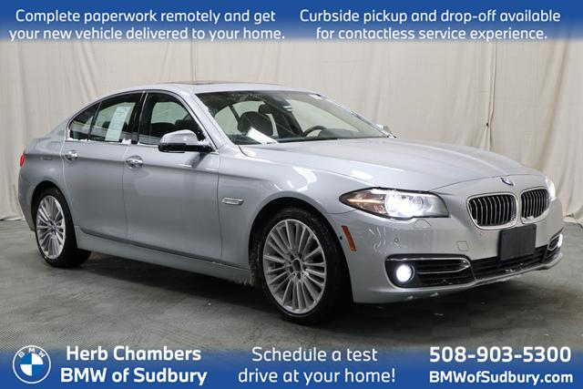 used 2016 BMW 550i car, priced at $25,998