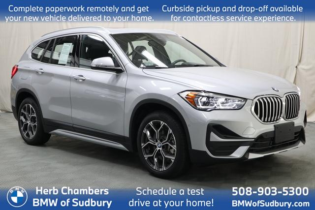 used 2021 BMW X1 car, priced at $38,598