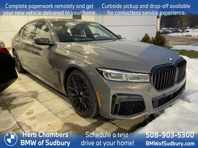 new 2021 BMW 750i car, priced at $122,800
