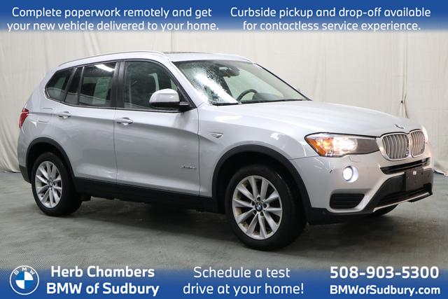 used 2017 BMW X3 car, priced at $24,888