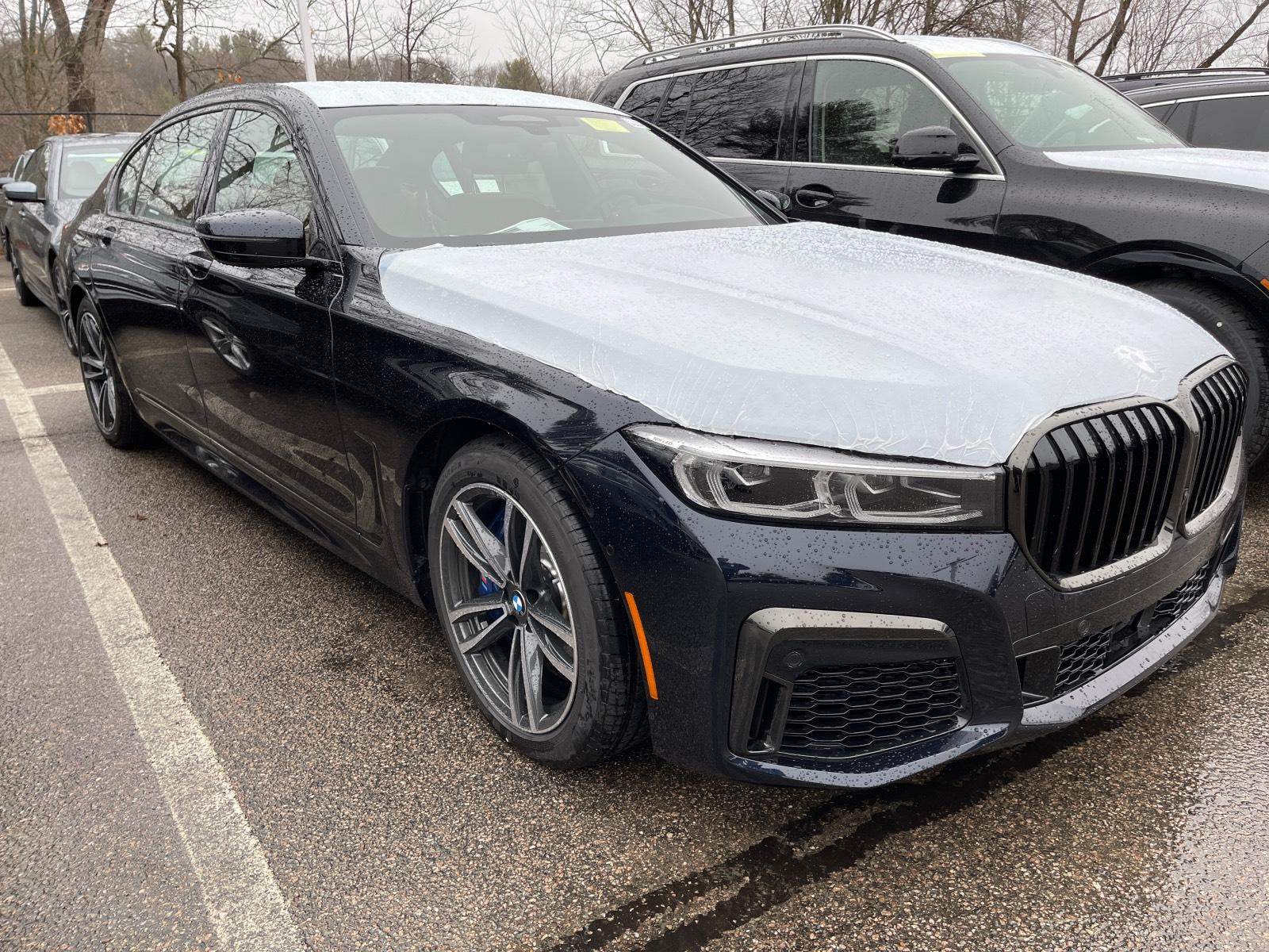 new 2021 BMW 750i car, priced at $115,450