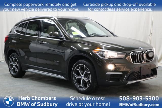 used 2018 BMW X1 car, priced at $25,988