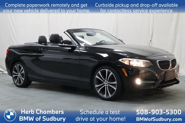 used 2017 BMW 230i car, priced at $21,898