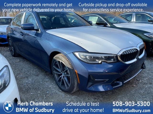 new 2021 BMW 330i car, priced at $49,195